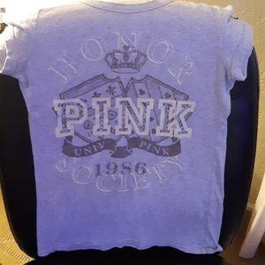 Gray vs pink tshirt